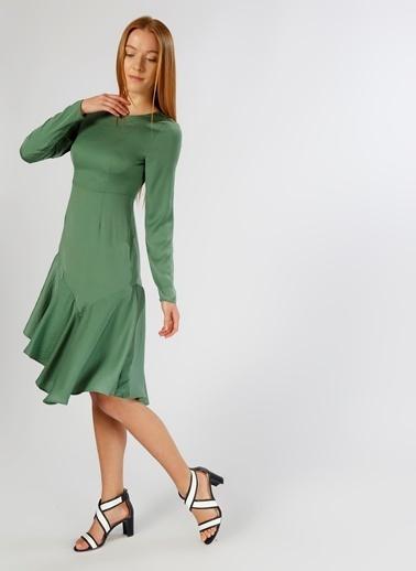 Vero Moda Elbise Yeşil